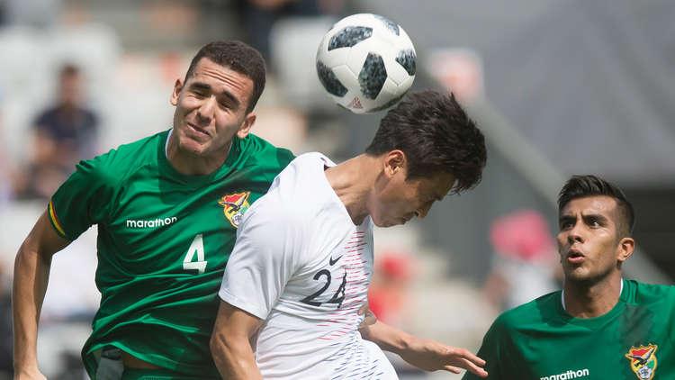 كوريا الجنوبية تتعادل مع بوليفيا استعدادا للمونديال