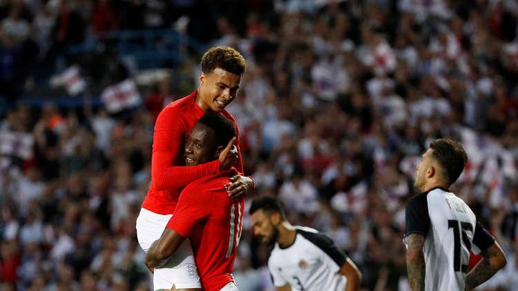 مونديال 2018.. إنجلترا تستعد لتونس بثنائية في شباك كوستاريكا