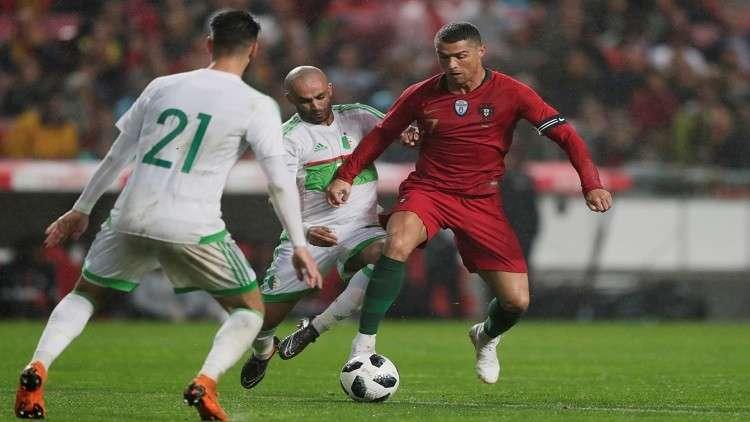 البرتغال تقسو على  الجزائر استعدادا للمونديال