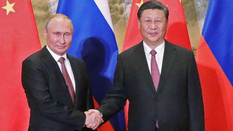 الرئيس الصيني: بوتين صديقنا
