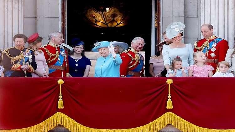 أول مشاركة لميغان في الاحتفال الرسمي بميلاد الملكة!