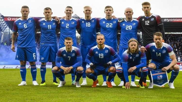 وصول منتخب آيسلندا إلى إقليم كراسنودار للمشاركة في المونديال