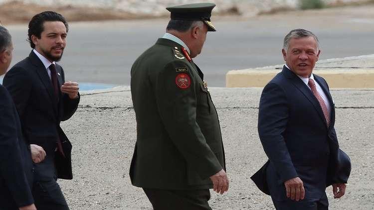 وصول العاهل الأردني عبد الله الثاني إلى السعودية