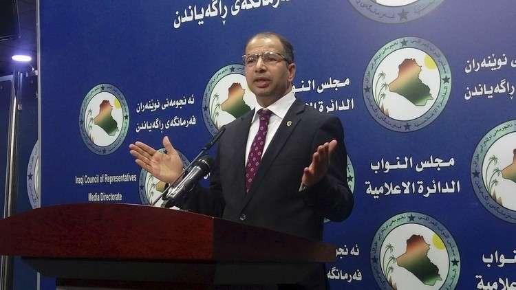 الجبوري: حريق مخازن المفوضية في بغداد متعمد وينبغي إعادة الانتخابات