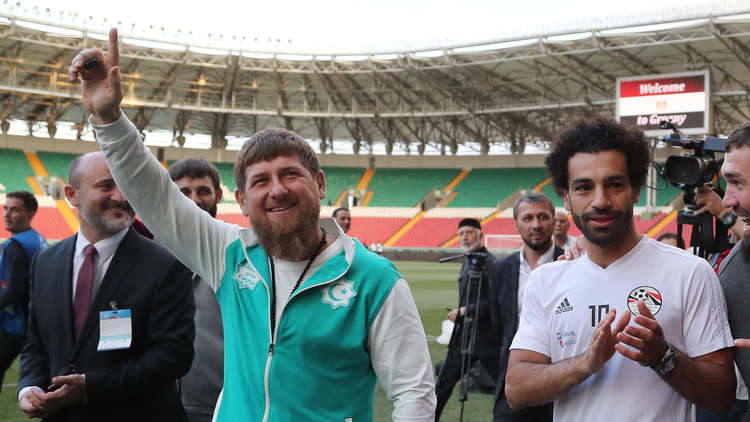 صلاح يغيب عن تمرين مصر الأول في الشيشان