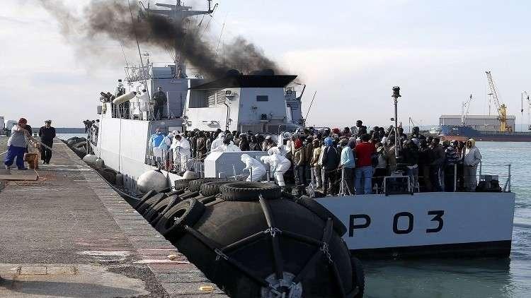 إيطاليا تهدد بغلق الطريق أمام سفن إنقاذ المهاجرين