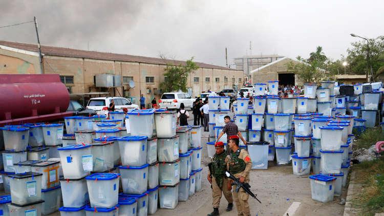 العبادي: حرق المخازن الانتخابية في ذكرى احتلال الموصل مخطط لضرب البلد
