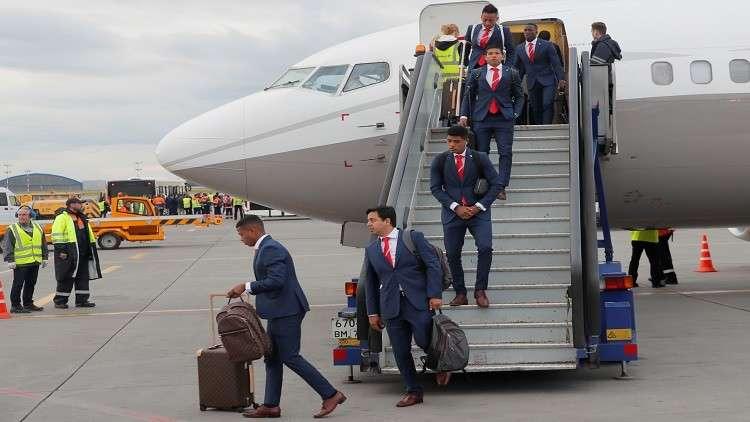 منتخب بيرو يصل روسيا استعدادا للمشاركة في المونديال