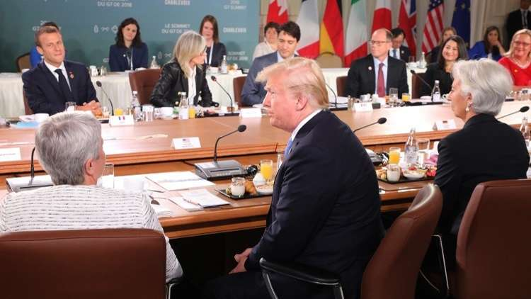 ترامب لماكرون: الصين أرحم منكم في التجارة!