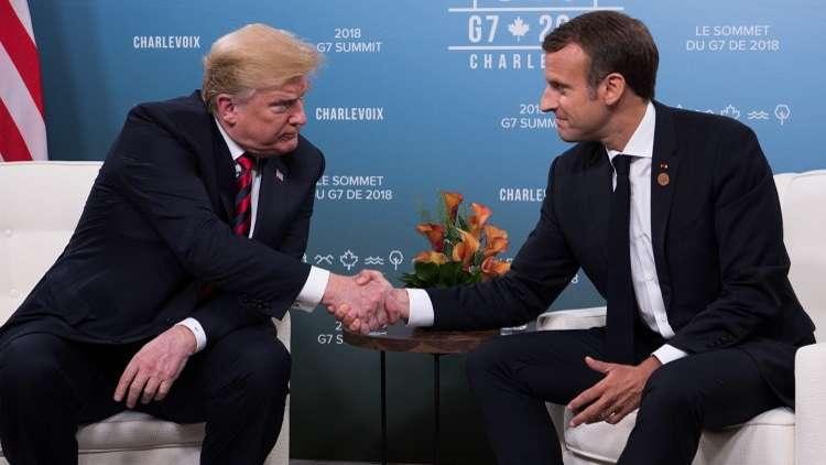هل هو حب أم انتقام؟.. ماكرون يحفر بصمته على كفّ ترامب