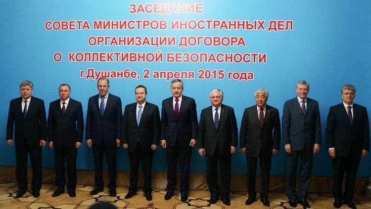 معاهدة الأمن الجماعي: حل الأزمة السورية سياسي حصرا