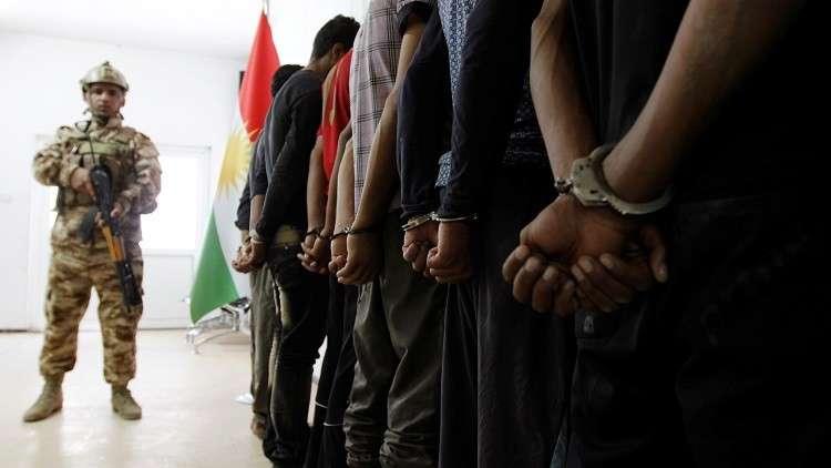 أربيل تسلم بغداد أكثر من 800 داعشي