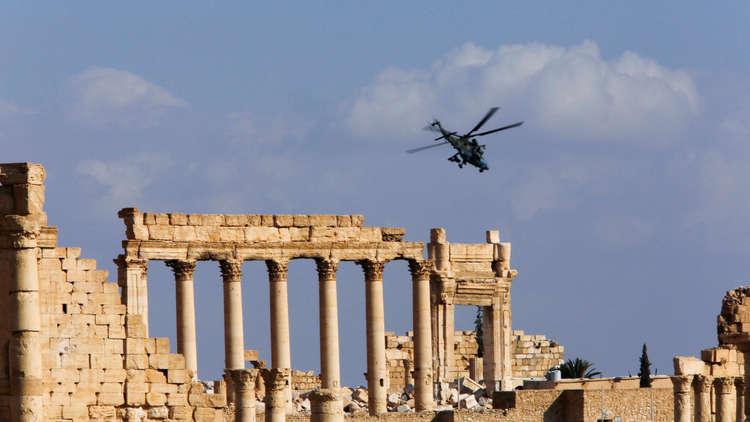 الجيش السوري يصد بمساندة من سلاح الجو الروسي هجوما على تدمر