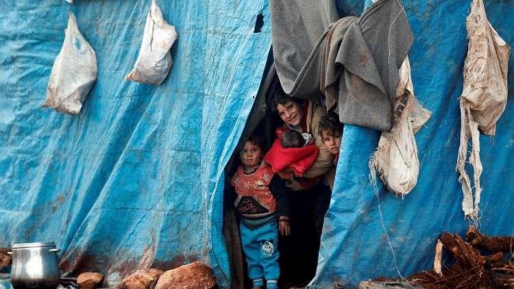 الأمم المتحدة: مليون نازح سوري في 2018