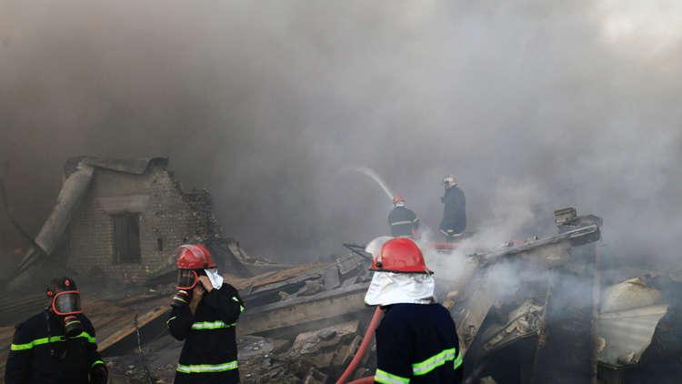 بغداد: توقيف 4 أشخاص بتهمة حرق مخازن مفوضية الانتخابات