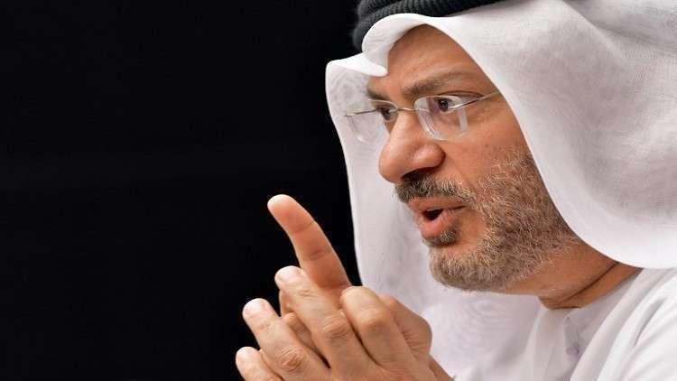 قرقاش يعلق على الشكوى القطرية ضد بلاده
