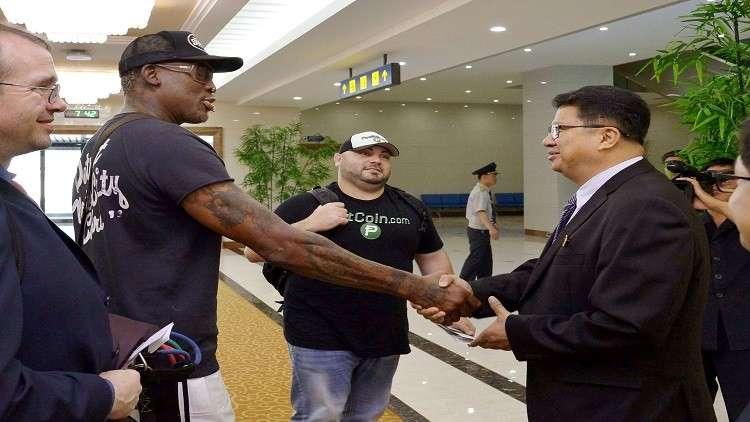 اللاعب الأمريكي الشهير دنيس رودمان يتطلع للقاء ترامب بعد قمة سنغافورة