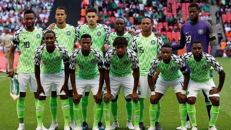 منتخب نيجيريا يصل إلى روسيا للمشاركة في المونديال