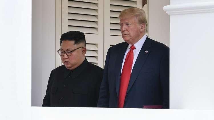 ترامب يصف كيم  بالمفاوض
