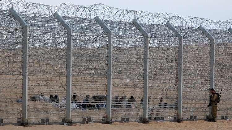 السياج الحدودي بين إسرائيل ومصر - أرشيف
