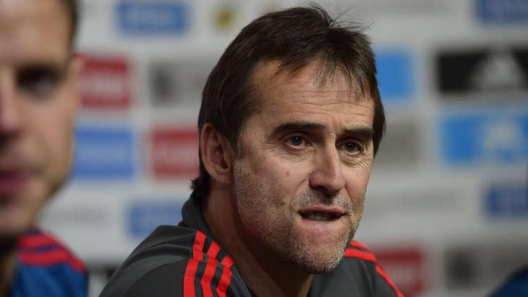 الاتحاد الإسباني يقيل لوبيتيغي من تدريب المنتخب عشية مونديال روسيا