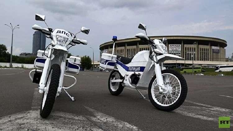 دراجات كلاشينكوف الكهربائية تنضم لشرطة مرور موسكو