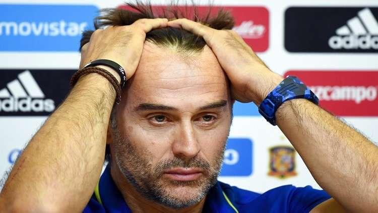 """لوبيتيجي يصل مدريد """"حزينا"""" تمهيدا لاستلام مهامه مع الريال"""