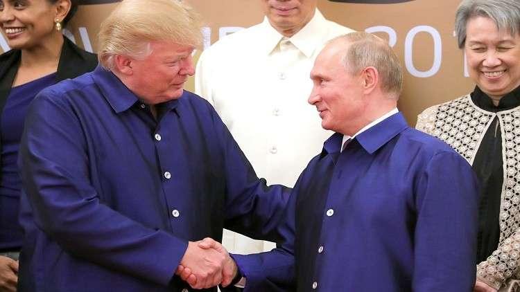 بوتين يهنئ ترامب بعيد ميلاده