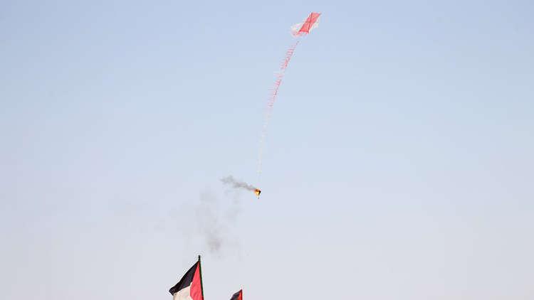أول أيام العيد .. الفلسطينيون سيطلقون 5000 طائرة حارقة باتجاه إسرائيل