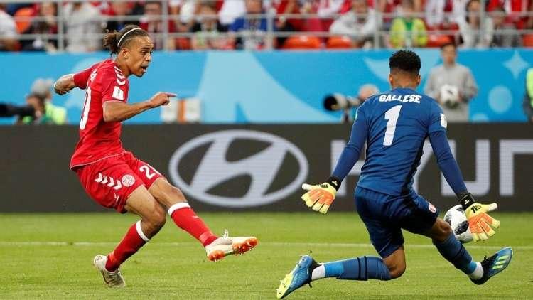 الدنمارك تخرج من عنق الزجاجة أمام بيرو في مونديال 2018