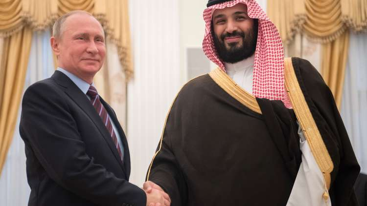 بوتين وابن سلمان يتخذان