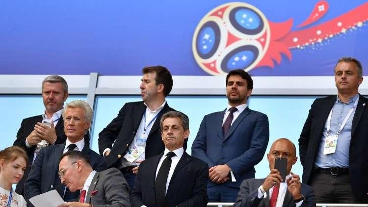ساركوزي: أنا سعيد لحصول الروس على فرصة استضافة كأس العالم
