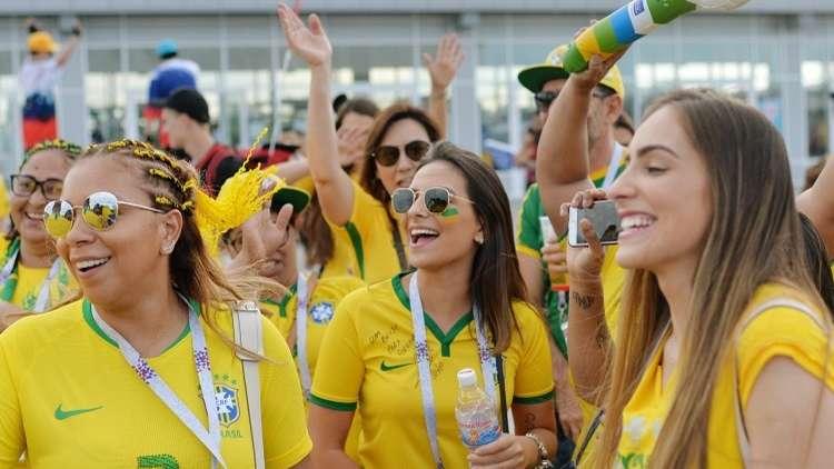 البرازيل تبدأ رحلة البحث عن كأس العالم السادسة من محطة سويسرا