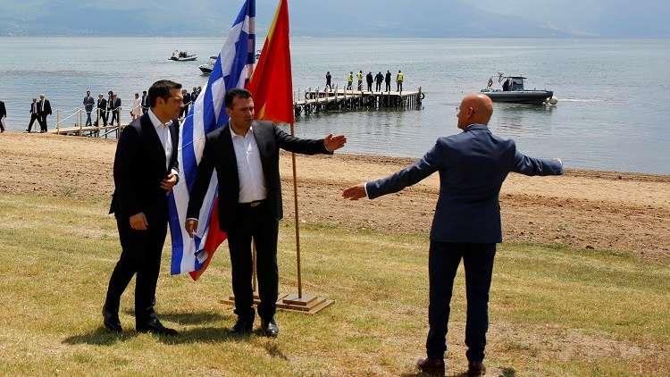 اتفاق تاريخي بين أثينا وسكوبيي ينهي خلافا استمر 27 عاما حول اسم مقدونيا