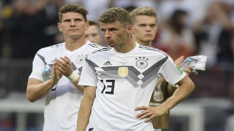 ألمانيا تغلق تدريباتها بعد الخسارة أمام المكسيك