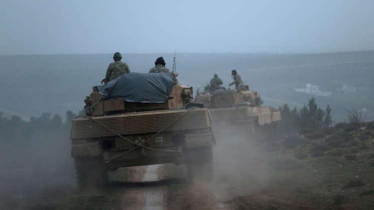 القوات التركية تبدأ دوريات في منبج السورية