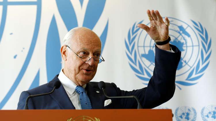 3 منصات للمعارضة السورية تسلم دي ميستورا قائمة مرشحيها للجنة الدستورية