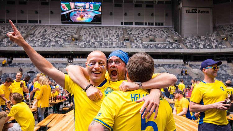 المشجعون السويديون