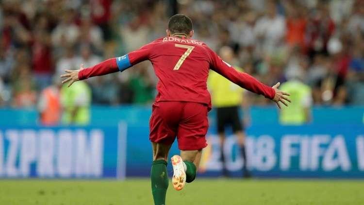 رونالدو يحقق أقصى سرعة في تاريخ كرة القدم