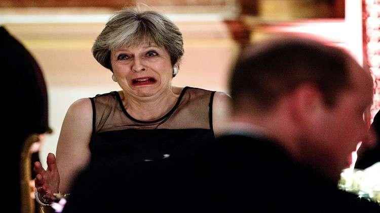 رئيسة وزراء بريطانيا، تيريزا ماي