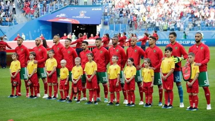 المغرب في مواجهة البرتغال .. التشكيلة الأساسية