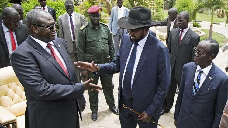 رئيس جنوب السودان يلتقي زعيم المتمردين لإنهاء الحرب الأهلية في البلاد
