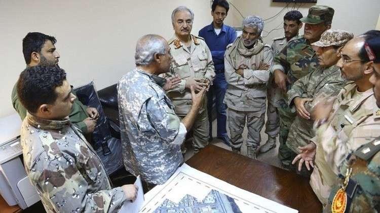 الجيش الوطني الليبي يؤكد استعادته السيطرة على ميناءي رأس لانوف والسدرة