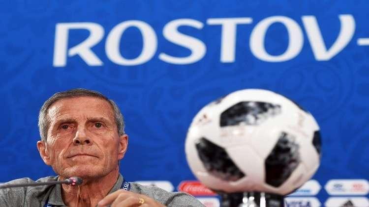"""مدرب أوروغواي: مباراة روسيا """"حياة أو موت"""""""