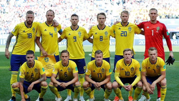 مونديال روسيا.. احتمال غياب 4 لاعبين سويديين أمام ألمانيا