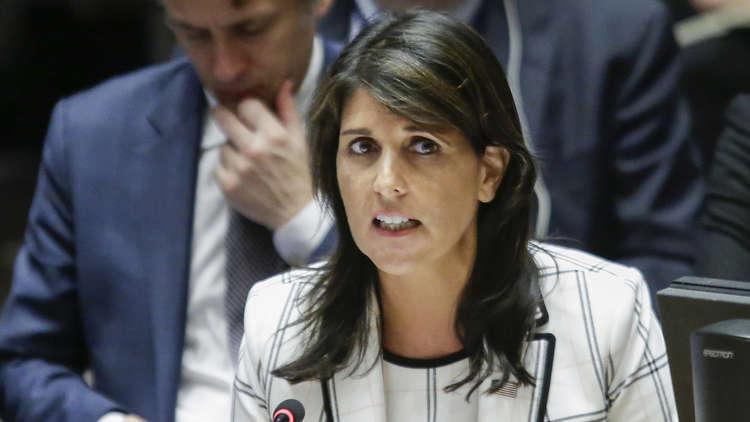 هايلي تتهم دمشق بخرق الهدنة في جنوب غرب سوريا