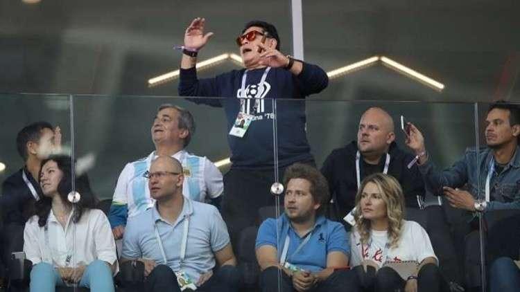 مارادونا: أريد أن أحضر تدريبات الأرجنتين كي أعلم اللاعبين