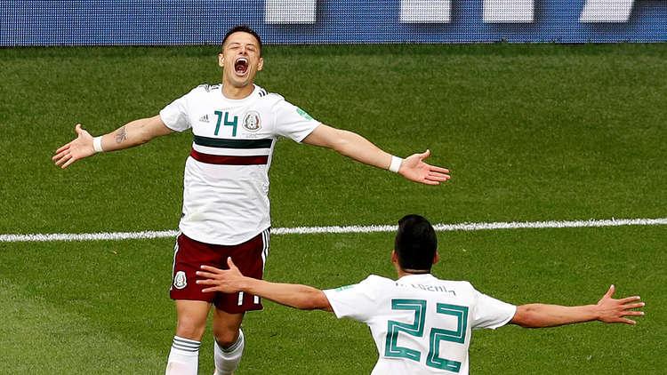 المكسيك تضع قدما في ثمن النهائي بفوز على كوريا الجنوبية