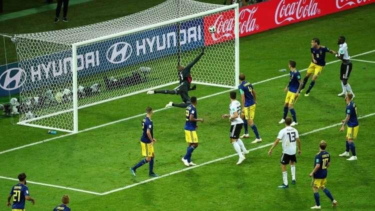 كروس ينقذ ألمانيا من الهاوية في مونديال روسيا 2018