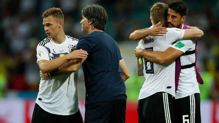 منتخب ألمانيا يعتذر لنظيره السويدي